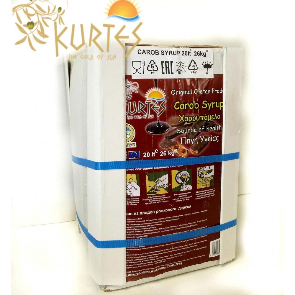 Сироп из плодов рожкового дерева 20 литров 26 кг с краником - доставка в Ваш город