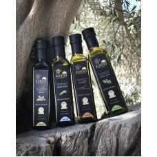 Оливковое масло KURTES Extra virgin PDO со вкусом Орегано - 250 мл. Кислотность 0,2-0,3.