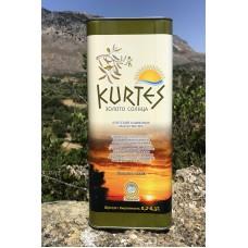 АКЦИЯ - Оливковое масло KURTES Extra virgin PDO 10 л.