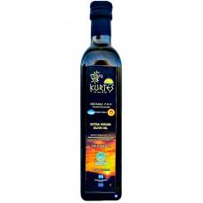 Оливковое масло KURTES Extra virgin PDO 500 мл. - кислотность 0,2-0,3