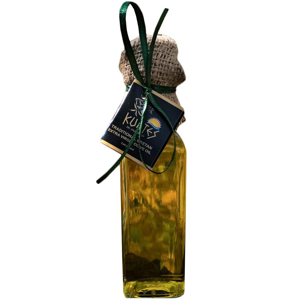 Натуральное оливковое масло KURTES Extra virgin PDO 100 мл.