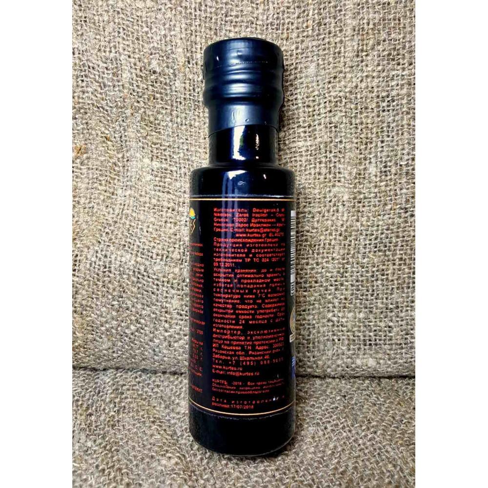 Оливковое масло KURTES Extra virgin со вкусом Чабера. 100 мл. Кислотность 0,2-0,3. - доставка в Ваш город