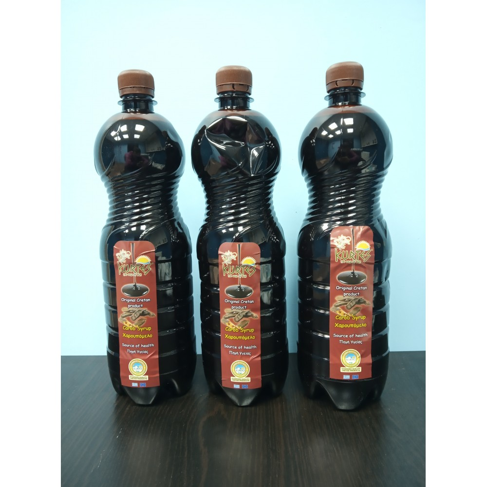 Сироп из плодов рожкового дерева 1 литр 1.3 кг три штуки - доставка в Ваш город