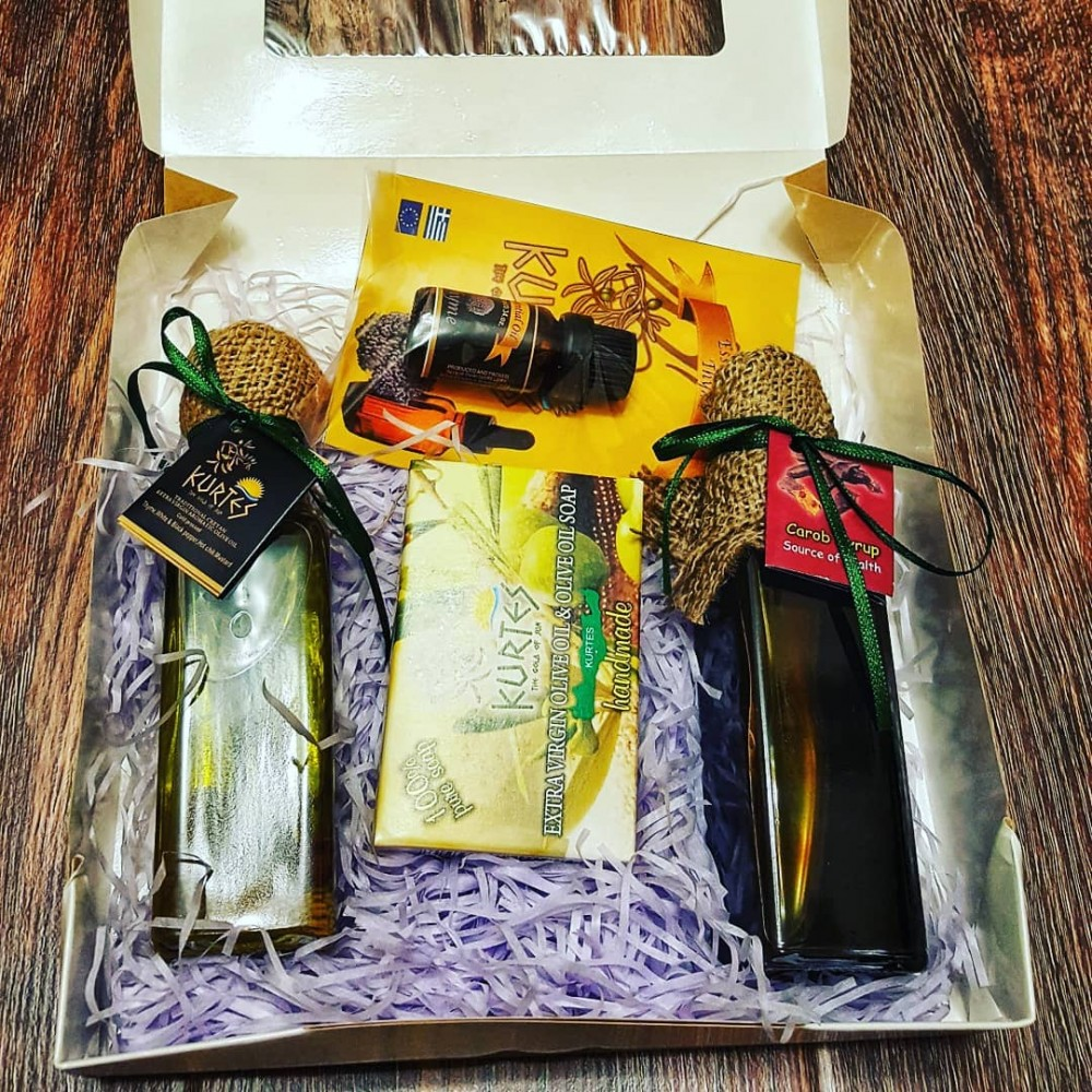 Подарочный набор  ЭКО греческих продуктов с о. Крит