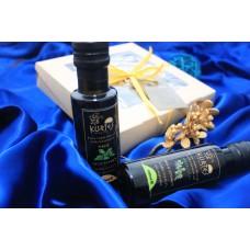 Оригинальный подарочный набор оливковых масел Extra Virgin KURTES 5 шт по 100 мл.