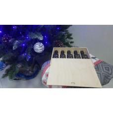 Подарочный набор деликатесных оливковых масел в пенале
