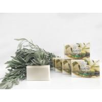 Оливковое мыло KURTES с ароматом лаванды - 90г. - доставка в Ваш город