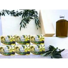 Оливковое мыло KURTES с ароматом ванили - 90г.