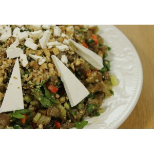 НЕжаркий рецепт критского салата