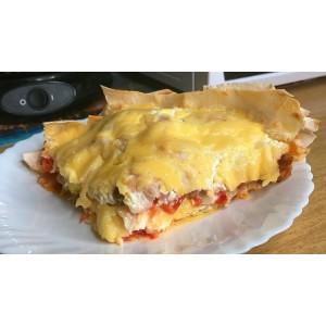 Пицца на готовом тесте. Приготовите даже быстрее, чем съедите